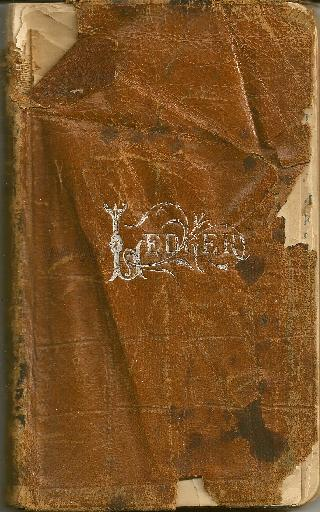 pa duryea 1903 dills funeral record book