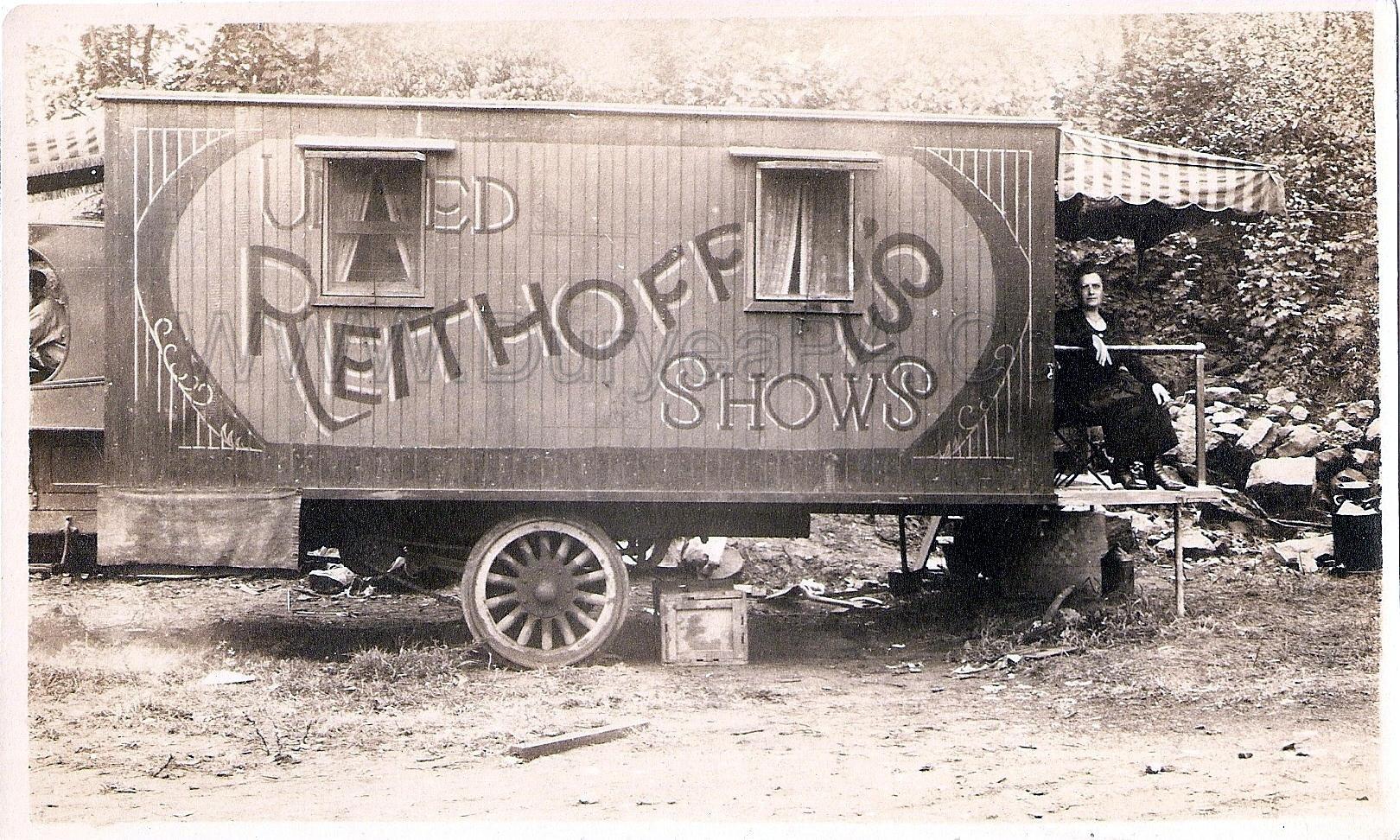 Carnival 1920 1920s Reithoffer Carnival